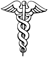 Hermes雙蛇杖 圖片來源 維基百科