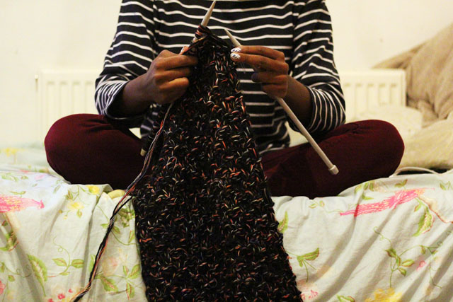 14. perfect length for a circle scarf snood tutorial
