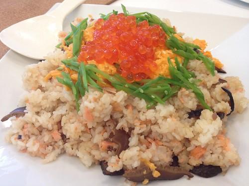 鮭いくらご飯@Garden Kitchen