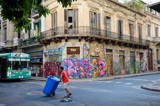 San Telmo Street Scene