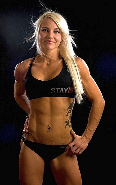 Heidi Vuorela - Finnish Female Bodybuilder