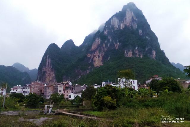 shuolong town mountain 硕龙