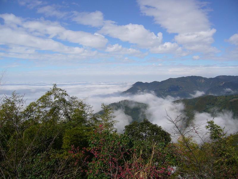 2013-01-12-嘉義大坑凌雲巖雲海