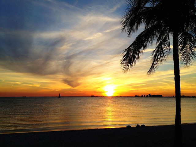 Key Biscayne Perfect Sunset