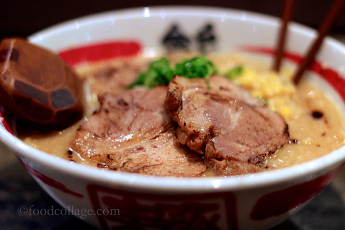 Miso Ramen with Pork Shoulder at Kinton Ramen (Toronto)