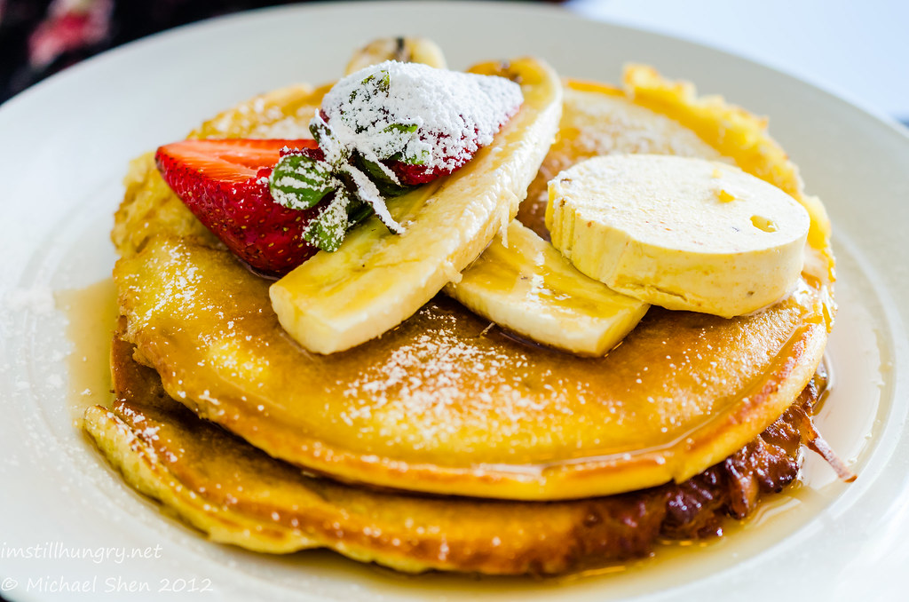 Booth St Bistro - buttermilk pancakes