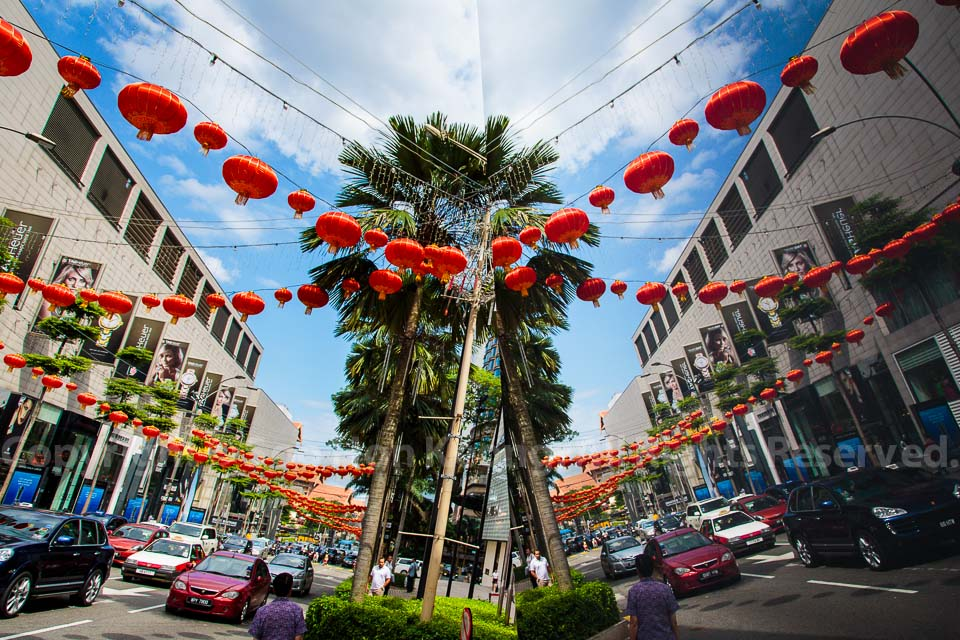 Chinese New Year Decorations @ KL, Malaysia