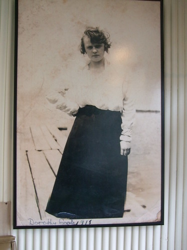 Keith A. Fleming's grandmother, Dorothy Goode, 1918