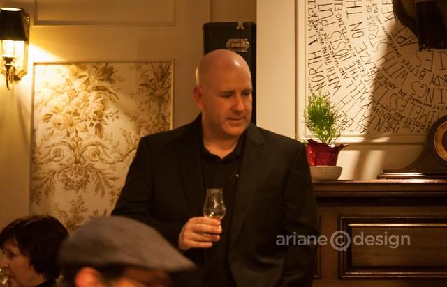 Pernod-Ricard spirits representative Bill Atwood