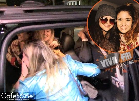 [VIDEO] Selena Gomez hizo subir a tres fans a su camioneta