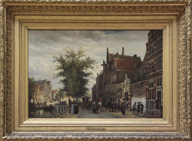 Het Atheneum Illustre aan de Oudezijds Voorburgwal te Amsterdam, Cornelis Springer 1879