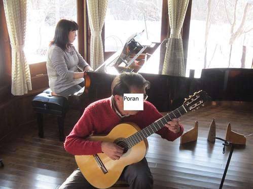 「優しい時間」オーナー奥様と二重奏 2013年2月12日 by Poran111