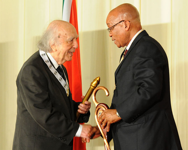 President Jacob Zuma bestows the Order of the Companions of OR Tambo, 26 Oct 2012