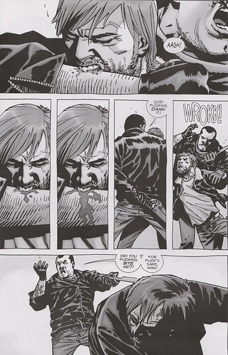 rick negan walking dead #107