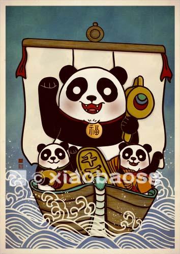 Maneki Panda 2