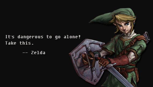 Zelda Friendship Quotes : Game quotes like success