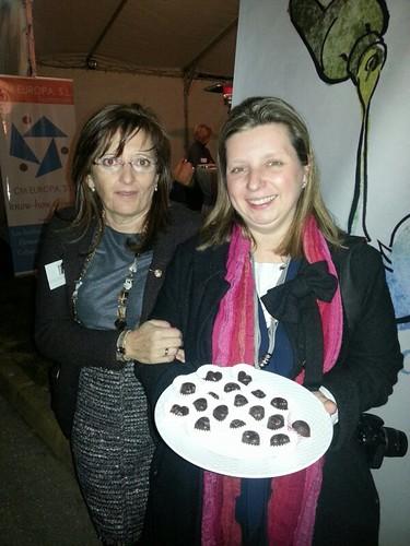 #twittsandaove Bombones de chocolate y virgen extra www.cocinandoentreolivos.com