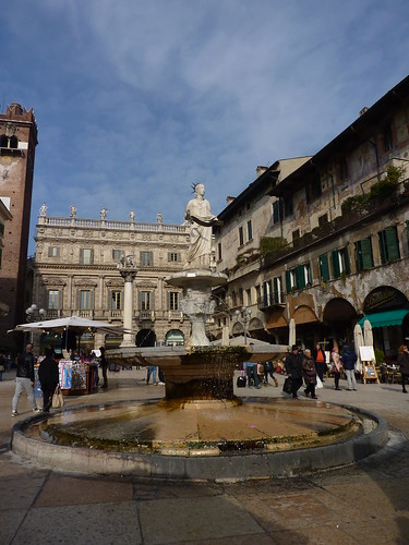 Fountain in Piazza Erbe