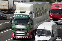 Volvo FH 6x2 Tractor - PX10 DDL - Jayne Anne - Eddie Stobart - M1 J10 Luton - Steven Gray - IMG_8944