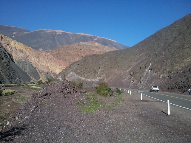Quebrada del Toro, Salta, tren de las Nubes