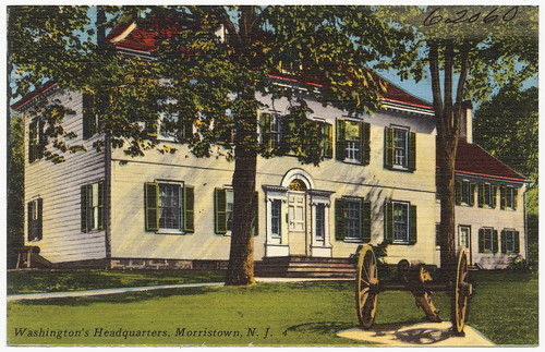 Washington's Headquarters, Morristown, N. J.