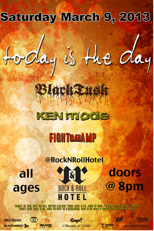 Today Is The Day at the Rock & Roll Hotel