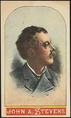 John A. Stevens. (front)