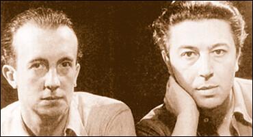 André Breton et Paul Eluard