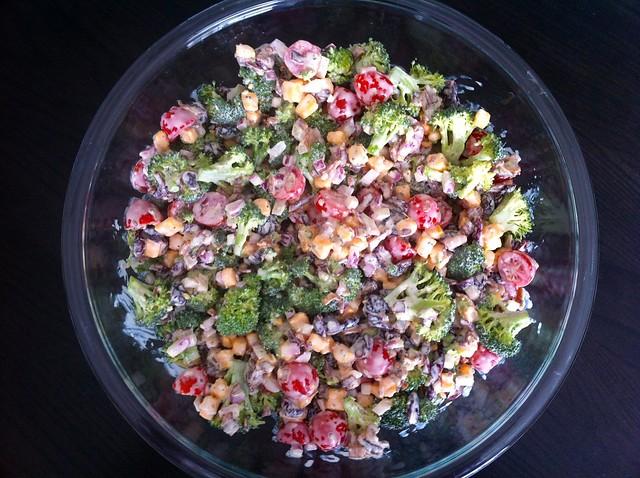 Bacon, Cheddar and Broccoli Salad