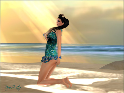 Overlooking the sea dreamed ... by Dyana Serenity