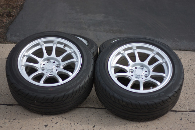 Vwvortex Com Fs 15x8 Quot Et 20 Tr Motorsports Amp 205 50 15 Yokohama S Drive