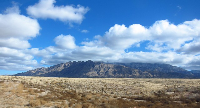 The Sandia Mountains near Albuquerque, New Mexico