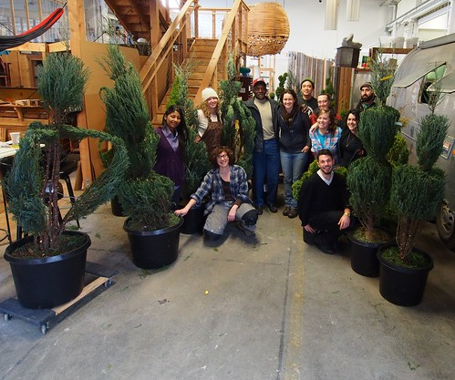 topiary workshop with Pearl Fryar