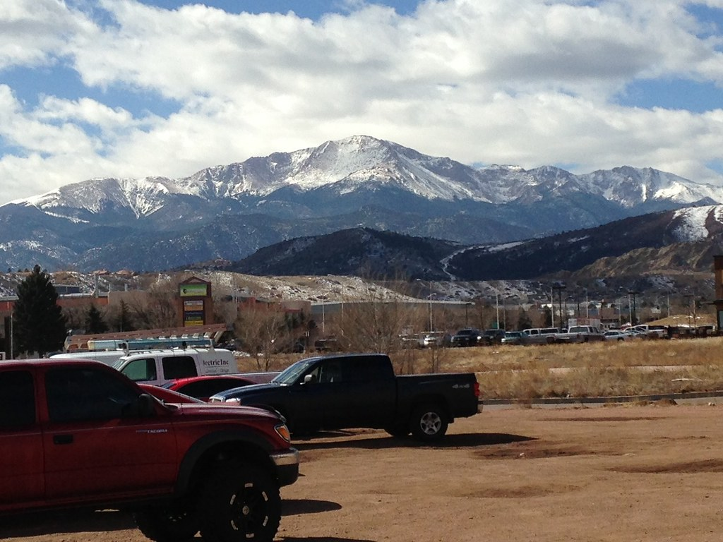 Pikes Peak snow