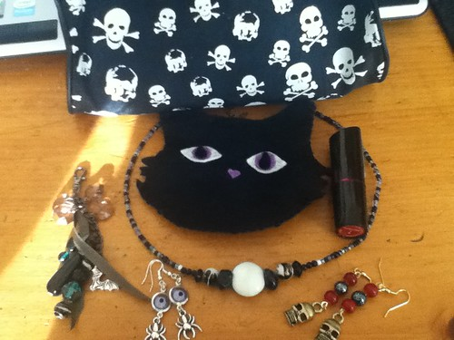 Items made for a Goth Swap on Cut Out and Keep
