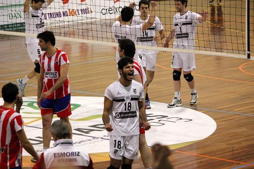Voleibol: Vitória SC 3-0 Esmoriz
