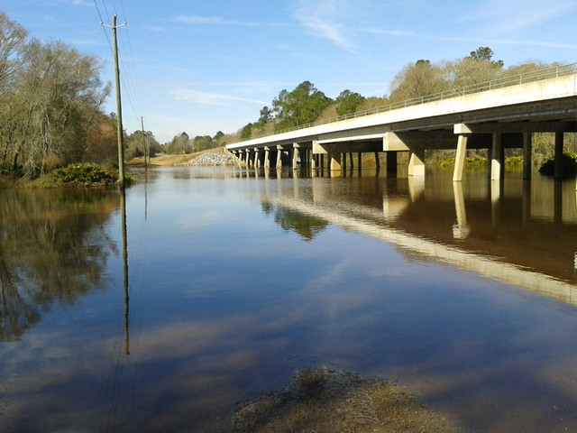 Withlacoochee River broad
