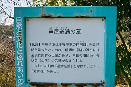 芦屋道満の墓 #3