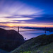 Long Exposure Sunrise over Golden Gate Bridge by {WLQ} Photography