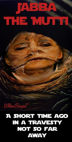 JABBA THE MUTTI by Colonel Flick/WilliamBanzai7