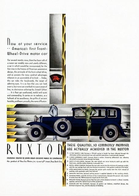 1930 Ruxton Saloon