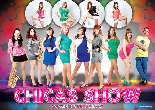 Chicas Show 2013 - orquesta - cartel