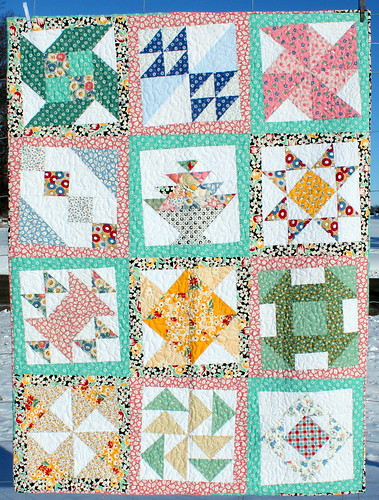 1930s BOM Sampler from Fabrics n Quilts