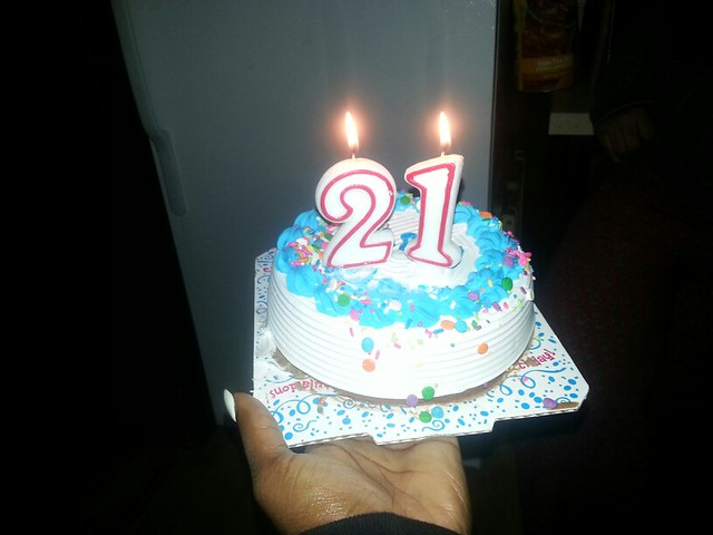 Carvel 21st Birthday Cake Flickr Photo Sharing