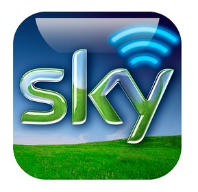how to set up sky go on iphone
