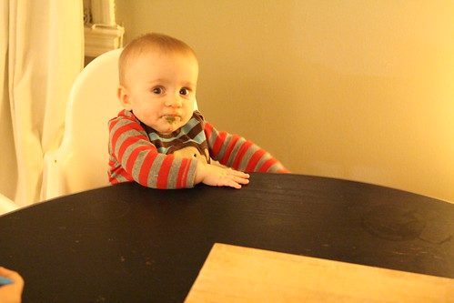 Martin at Dinner Table