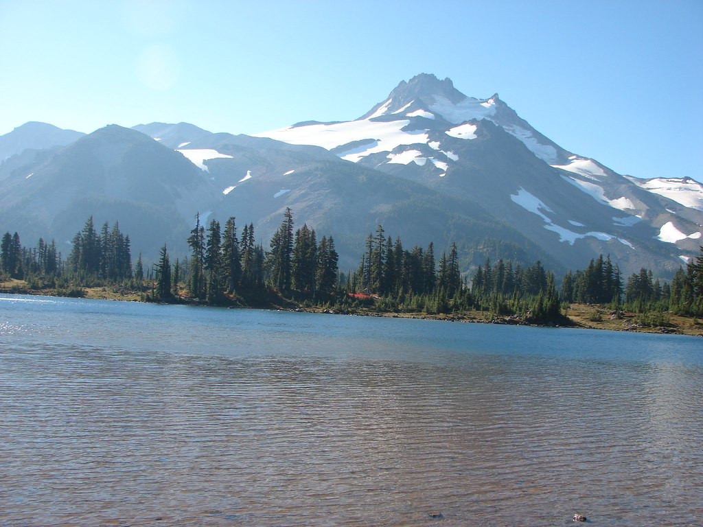 Mt. Jefferson from Russel Lake