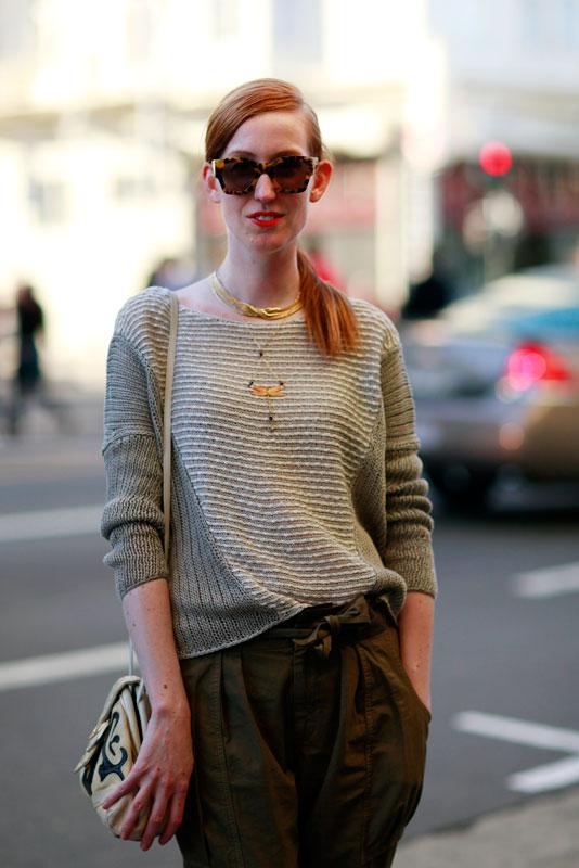 dronning_closeup street style, street fashion, women, San Francisco, Valencia Street