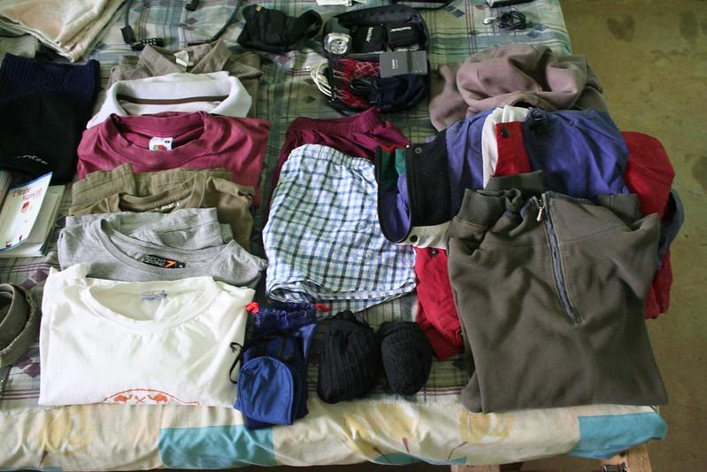 O que levar na mochila ou mala de viagem