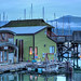 Cowichan Bay Marina – Cowichan Bay, BC, Canada by Toad Hollow Photography
